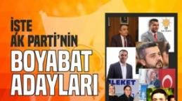 Boyabat İl Genel Meclis ve Belediye Meclis Adayları Belli Oldu