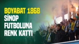 Boyabat 1868 Sinop Futboluna Renk Kattı...