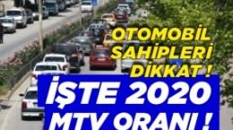 Motorlu Taşıtlar Vergisine %22.58 Zam !