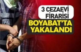 Cezaevinden Kaçan 3 Kişi Boyabat'ta Yakalandı
