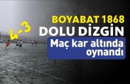 Boyabat 1868 ,Taşköprüspor'u 4-3 Mağlup Etti