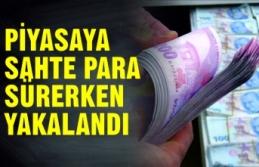 Piyasaya sahte para süren kişi yakalandı