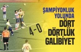 Boyabat 1868 Spor Kritik Maçta 4-0 Galip Geldi