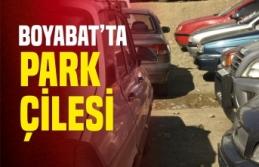 Boyabat'ta Park Çilesi