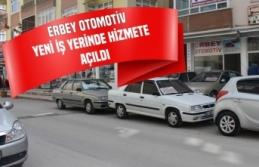 Erbey Otomotiv Yeni İş Yerinde Hizmete Açıldı