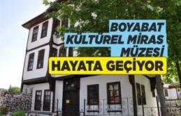 Boyabat Belediyesi Yaşayan Kültürel Miras Müzesi'nde...