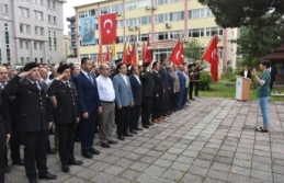 Boyabat'ta 19 Mayıs Atatürk'ü Anma, Gençlik ve Spor Bayramı Kutlamaları