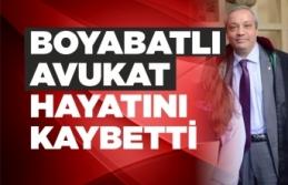 Boyabatlı Avukat Hayatını Kaybetti