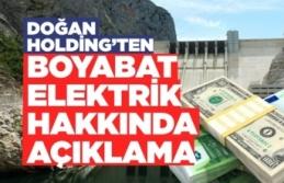 Doğan Holding, Boyabat Elektrik'in Kredilerini Yeniden Yapılandırdı