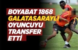 Boyabat 1868 Spor Galatasaray'da Oynayan Genç Yeteneği Kadrosuna Kattı
