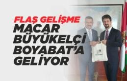 Macaristan Büyükelçisi Viktor Matis, Boyabat'a...
