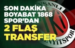 Tavşanlı Linyitspor'dan Boyabat'a 2 transfer birden