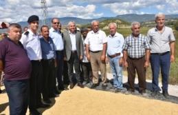 Boyabat'ta 2019 Yılı Çeltik Hasadı Başladı (videolu)