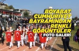 Boyabat Cumhuriyet Bayramından Renkli Görüntüler