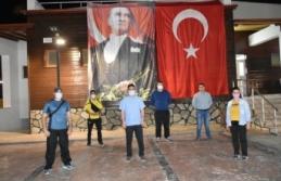 Boyabat'ta balkon egzersizi vatandaşların katılımı ile gerçekleşti
