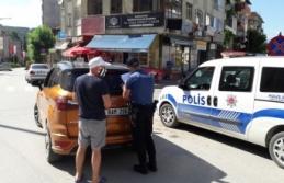 Boyabat polisinden YKS günü sokağa çıkma yasağı denetimleri