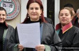 Sinop Barosundan basın açıklaması