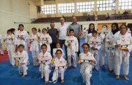 Taekwondocuların sınav heyecanı