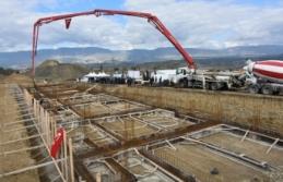 Boyabat Marangozlar Sanayi Sitesi dükkanları temel atma töreni