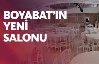 Boyabat Belediyesi Düğün Salonu Kullanıma Hazır