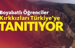Boyabatlı Öğrenciler Kırkkızlar Efsanesini Türkiye'ye...