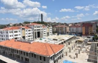 Karadeniz'in Yeni Seyir Kulesinin İnşasında...