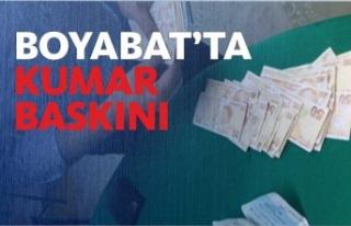 Boyabat'ta Kumar Operasyonu