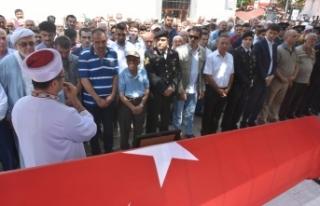 Malul Gazi Teğmen Hüseyin Kocabaş, Askeri Törenle...