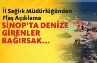 Sinop İl Sağlık Müdürlüğünden Flaş Açıklama