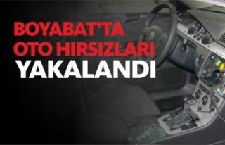 Araç Hırsızları Boyabat'ta yakalandı