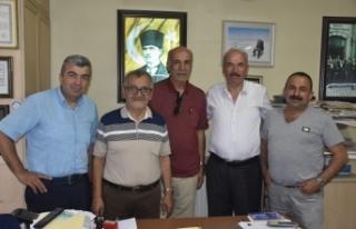 ASİLDER'den gazetemize ziyaret
