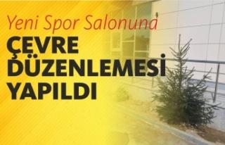 Boyabat Belediyesi Yeni Spor Salonu Çevre Düzenlemesini...