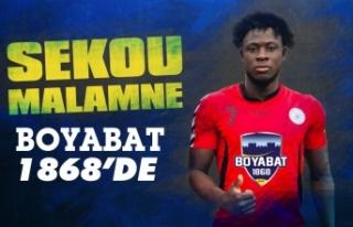 Sekou Malamne Boyabat 1868 Spor Kulübüne transfer...