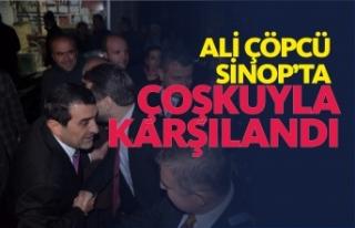 Ak Parti Teşkilatı Ali Çöpcü'yü Coşkuyla...