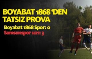 Boyabat 1868 Spor :0  Samsunspor u21 :3
