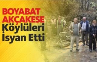 Boyabat Akçakese Köyü Sakinleri Yetkililerden Yardım...