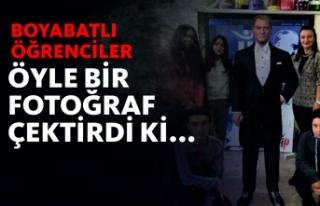 Boyabatlı Öğrenciler Mustafa Kemal Atatürk'ün...
