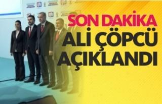 Cumhurbaşkanı Erdoğan Ali Çöpçü'yü Açıkladı