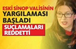 Eski Sinop Valisi Yasemin Özata Çetinkaya'nın...