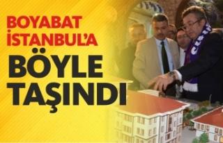 İstanbul'da Boyabat Standına Büyük İlgi