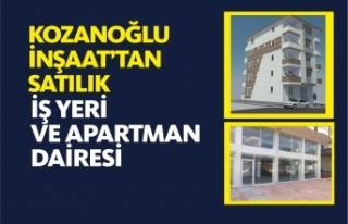 KOZANOĞLU İNŞAAT'TAN SATILIK İŞYERİ VE...