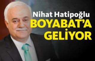 Prof.Dr. Nihat Hatipoğlu Boyabat'a geliyor