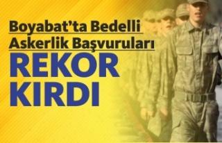 Boyabat'ta Bedelli Askerlik Başvuruları Rekor...