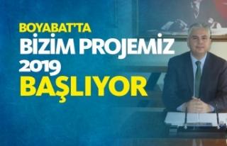 Boyabat'ta ''Bizim Projemiz''2019...