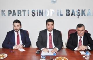 AK Parti yeni Sinop il yönetimi açıklandı