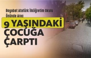 Boyabat Atatürk İlköğretim Okulu Önünde Trafik...