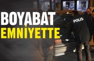 Boyabat Polisi, İlçe Merkezindeki Denetimlerine...