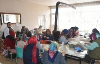 Boyabat'ta Halk Eğitim Kurslarına Yoğun İlgi