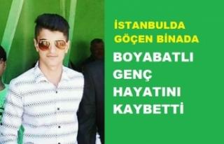 Boyabatlı 18 Yaşındaki Emirhan Tunç, Göçen Binada...