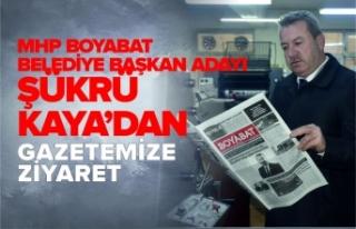 MHP Boyabat Belediye Başkanı Adayı Kaya'dan...